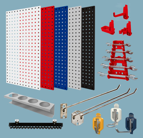 Perforated Board/Hanger Hooks